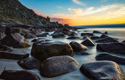 Uttakleiv Beach (Leknes - Lofoten, Norvegia)