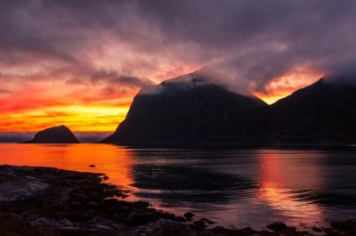 Haukland Beach (Leknes - Lofoten, Norvegia)