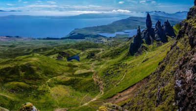 Old man of Storr (Skye, Scozia)