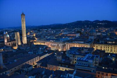 Vista di Bologna dalla torre Prendiparte