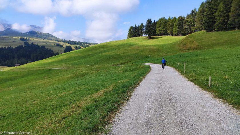 Alpe di Siusi in Bici